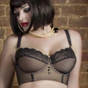 Dirty Dolls corselette longline bra 36D